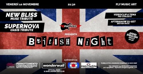 """QUESTA SERA SUPERNOVA LIVE ALLA """"TORINO BRITISH NIGHT 2017""""!!!"""