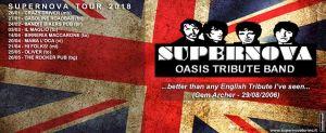 """GLI APPUNTAMENTI DI MAGGIO CON IL """"SUPERNOVA-TOUR 2018"""""""