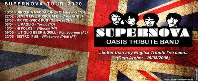 """SOSPESO IL """"SUPERNOVA-TOUR 2020"""""""