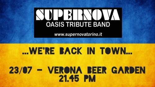 QUESTA SERA I SUPERNOVA RITORNANO FINALMENTE LIVE A VERONA!!!