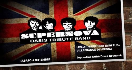 """QUESTA SERA SUPERNOVA LIVE AL """"DUBLINERS IRISH PUB""""!!!"""